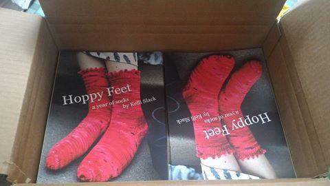 hoppy feet box of books